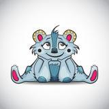 Κινούμενα σχέδια του χαριτωμένου ζώου φαντασίας Στοκ φωτογραφία με δικαίωμα ελεύθερης χρήσης