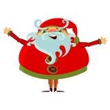 Κινούμενα σχέδια Άγιος Βασίλης απεικόνιση αποθεμάτων
