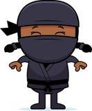 Κινούμενα σχέδια λίγο Ninja ελεύθερη απεικόνιση δικαιώματος