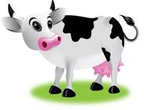 Κινούμενα σχέδια αγελάδων Στοκ εικόνες με δικαίωμα ελεύθερης χρήσης
