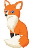 Κινούμενα σχέδια αλεπούδων Στοκ Φωτογραφίες