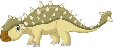 Κινούμενα σχέδια δεινοσαύρων Ankylosaurus Στοκ εικόνες με δικαίωμα ελεύθερης χρήσης