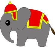 Κινούμενα σχέδια ελεφάντων της Ταϊλάνδης Στοκ Εικόνες