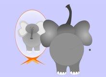 κινούμενα σχέδια ελεφάντων Στοκ Εικόνες