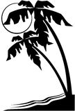 Κινούμενα σχέδια διανυσματικό Clipart φύλλων φύσης δέντρων Στοκ εικόνα με δικαίωμα ελεύθερης χρήσης