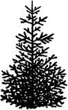 Κινούμενα σχέδια διανυσματικό Clipart χριστουγεννιάτικων δέντρων Στοκ φωτογραφία με δικαίωμα ελεύθερης χρήσης
