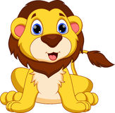 Κινούμενα σχέδια λιονταριών Στοκ Φωτογραφία
