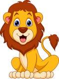 Κινούμενα σχέδια λιονταριών Στοκ φωτογραφίες με δικαίωμα ελεύθερης χρήσης