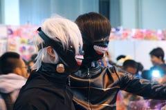 Κινούμενα σχέδια καρναβάλι Στοκ Εικόνα