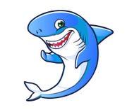 Κινούμενα σχέδια καρχαριών Στοκ Φωτογραφία