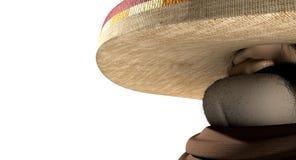 Κινούμενα σχέδια μεξικανός στη μεξικάνικη απόκλιση Στοκ Εικόνα