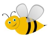 Κινούμενα σχέδια μελισσών Στοκ Εικόνες