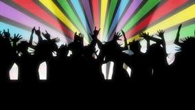 Κινούμενα σχέδια τεχνάσματα χορού κίτρινα απόθεμα βίντεο