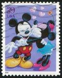Κινούμενα σχέδια της Disney Στοκ εικόνες με δικαίωμα ελεύθερης χρήσης