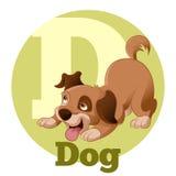 Κινούμενα σχέδια ABC Dog4 Στοκ Εικόνες