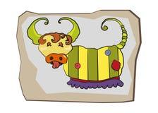 Κινούμενα σχέδια character#8 Στοκ Φωτογραφία