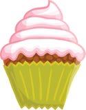 Κινούμενα σχέδια cupcake Στοκ εικόνες με δικαίωμα ελεύθερης χρήσης