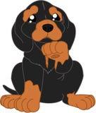 Κινούμενα σχέδια dachshund Στοκ Φωτογραφίες