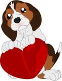 Κινούμενα σχέδια dachshund Στοκ Εικόνα
