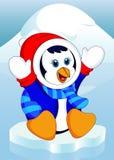 Κινούμενα σχέδια Penguin Στοκ φωτογραφία με δικαίωμα ελεύθερης χρήσης