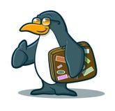 Κινούμενα σχέδια Penguin Στοκ Φωτογραφίες