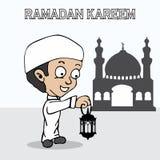 Κινούμενα σχέδια Ramadan Στοκ εικόνα με δικαίωμα ελεύθερης χρήσης