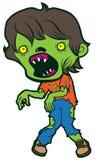 Κινούμενα σχέδια zombie Στοκ Φωτογραφίες