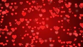 Κινούμενες καρδιές απεικόνιση αποθεμάτων