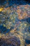 Κινούμενη περίληψη χρωμάτων ποταμών βουνών ρευμάτων Στοκ Εικόνες