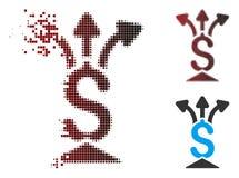 Κινούμενο εικονίδιο Aggregator εικονοκυττάρου ημίτονο οικονομικό Ελεύθερη απεικόνιση δικαιώματος