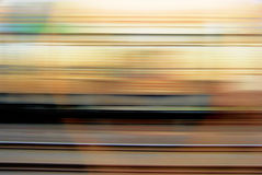 κινούμενο τραίνο Στοκ εικόνα με δικαίωμα ελεύθερης χρήσης