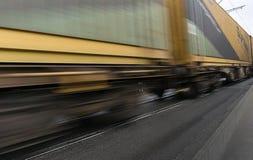 κινούμενο τραίνο στοκ εικόνες