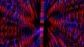 Κινούμενο υπόβαθρο μήκους σε πόδηα γραμμών ακτίνων φωτισμού απόθεμα βίντεο