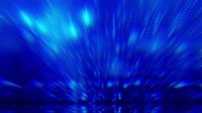 Κινούμενο υπόβαθρο μήκους σε πόδηα θαμπάδων ακτίνων φωτισμού απόθεμα βίντεο