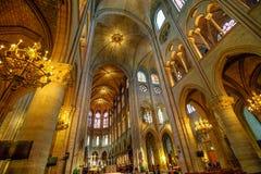 Κιονοστοιχία της Notre Dame Στοκ εικόνες με δικαίωμα ελεύθερης χρήσης