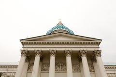 Κιονοστοιχία του καθεδρικού ναού τριάδας Στοκ φωτογραφία με δικαίωμα ελεύθερης χρήσης
