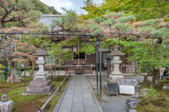 ΚΙΟΤΟ, ΙΑΠΩΝΙΑ - 8 ΟΚΤΩΒΡΊΟΥ 2015: Nanzen-nanzen-ji, Zuiryusan Nanzen-nanzen-ji, στο παρελθόν Zenrin-zenrin-ji βουδιστικός ναός τ στοκ εικόνες με δικαίωμα ελεύθερης χρήσης