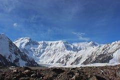 Κιργιστάν - αιχμή Pobeda (Jengish Chokusu) 7.439 μ Στοκ φωτογραφίες με δικαίωμα ελεύθερης χρήσης