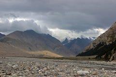 Κιργιστάν - κεντρική περιοχή της Τιέν Σαν Στοκ εικόνα με δικαίωμα ελεύθερης χρήσης