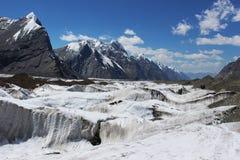 Κιργιστάν - κεντρική περιοχή της Τιέν Σαν Στοκ Φωτογραφίες