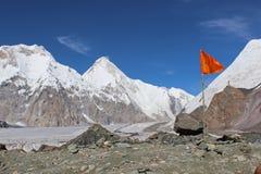 Κιργιστάν - Khan Tengri (7, 010 μ) Στοκ φωτογραφία με δικαίωμα ελεύθερης χρήσης