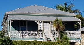 Κιρκίρι και άσπρο Queenslander Στοκ φωτογραφία με δικαίωμα ελεύθερης χρήσης
