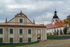 Κιστερκιανό μοναστήρι, Plasy, Τσεχία Στοκ φωτογραφία με δικαίωμα ελεύθερης χρήσης