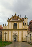 Κιστερκιανό μοναστήρι, Plasy, Τσεχία Στοκ εικόνα με δικαίωμα ελεύθερης χρήσης