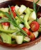 Κιτρικές αβοκάντο μήλων και σαλάτα ντοματών Στοκ φωτογραφία με δικαίωμα ελεύθερης χρήσης