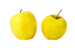 Κιτρινοπράσινα μήλα Στοκ φωτογραφίες με δικαίωμα ελεύθερης χρήσης