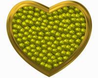 Κιτρινωπή αγάπη στην πολυτέλεια Στοκ φωτογραφία με δικαίωμα ελεύθερης χρήσης