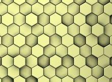 Κιτρινωπό διακοσμητικό υπόβαθρο επιφάνειας στα διαφορετικά επίπεδα στοκ φωτογραφία με δικαίωμα ελεύθερης χρήσης