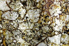Κιτρινωπό καφετί ανώτερο φυσικό υλικό πετρών Στοκ Εικόνες