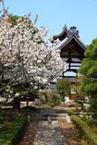 Arashiyama - ναός Tenryuji Στοκ εικόνα με δικαίωμα ελεύθερης χρήσης